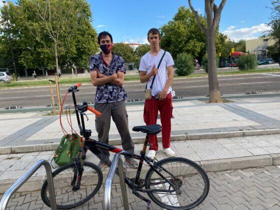Donación bicicleta (historias que importan)